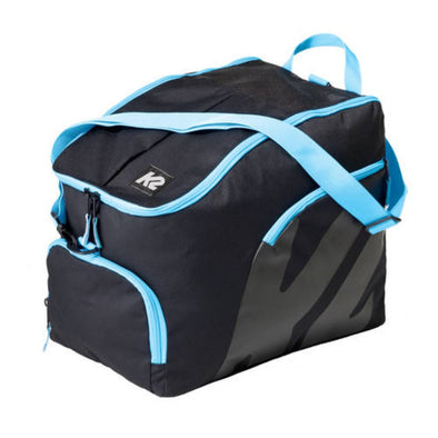 large blue and black inline rollerblade skate bag