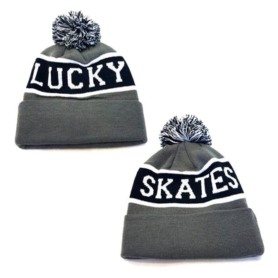 Lucky Skates Beanie Grey/Black