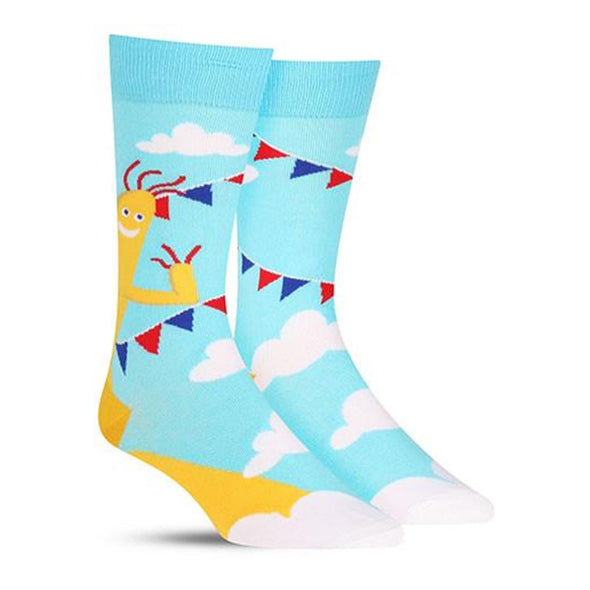 Mr Wavey Arms Mens Crew Socks