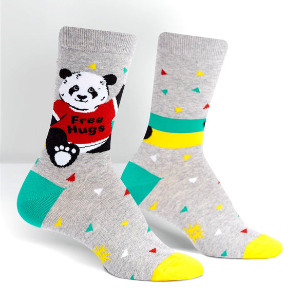 Bear Hug Womens Crew Socks