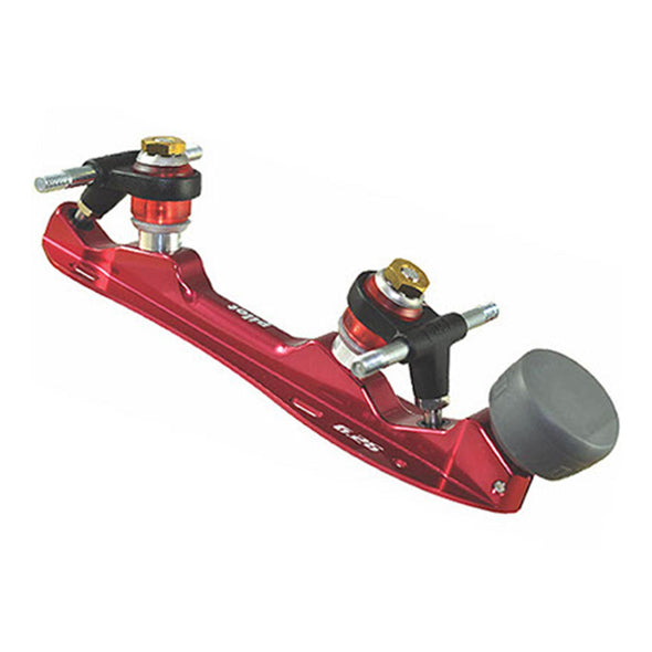 RED 16 DEGREE ROLLERSKATE PLATE
