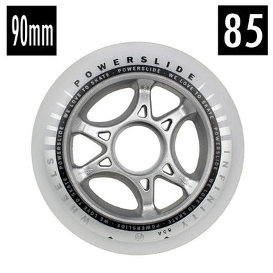 white outdoor inline wheels
