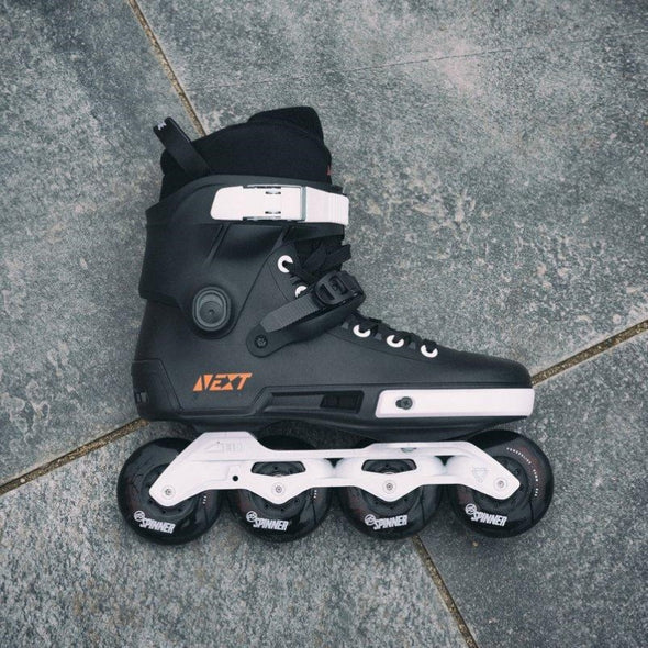 next powerslide all black inline skates