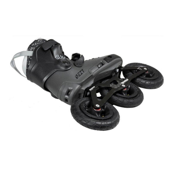 125mm tri skates with off road tyres