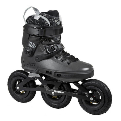 off road inline skate with tyre wheels