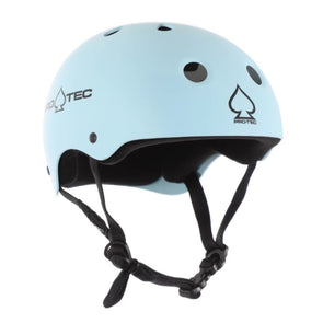 light blue skate bike helmet