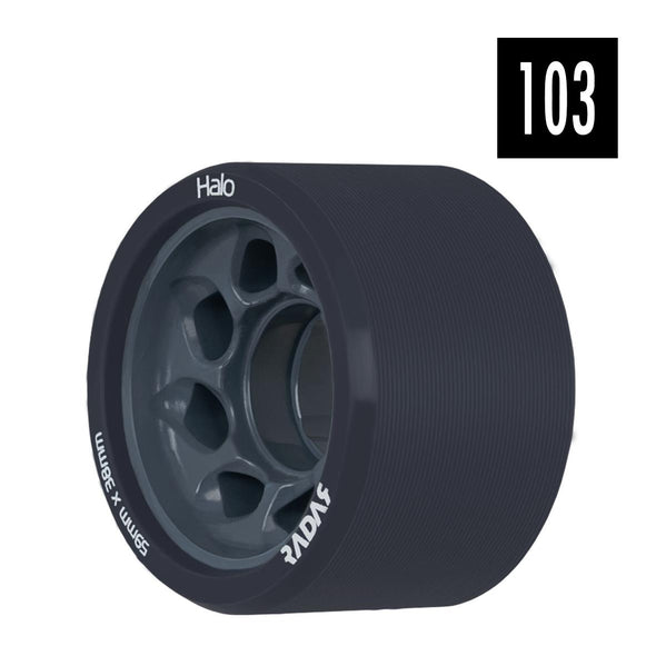 black hard 103a derby wheels