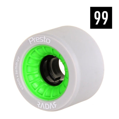 presto green 99a hard wheels