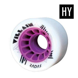 hybrid wheels purple white 84a