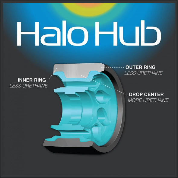 Radar Halo Wheels 103A - 4 pack