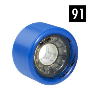 91a roller derby wheels blue