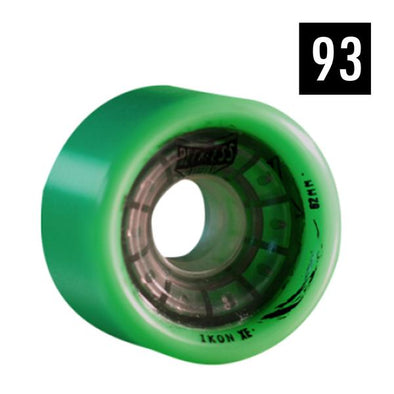 reckless roller derby wheels green