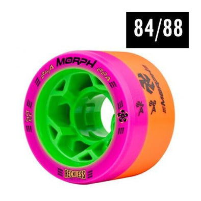 Reckless Morph Wheels 84/88A - 4 pack