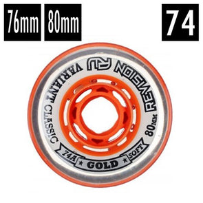 rv revision indoor hockey wheels 74a