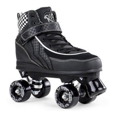 black high top skates