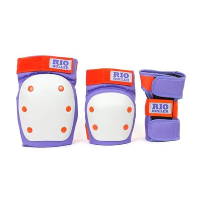 PURPLE ORANGE KNEE ELBOW WRIST