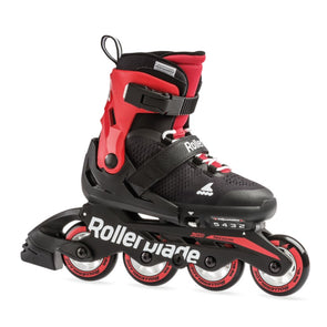 kids childrens rollerblades IN RED AND BLACK