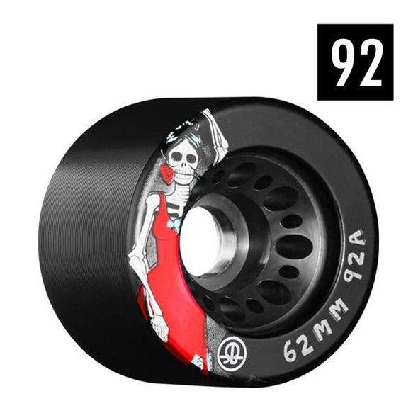black 92a roller derby wheels