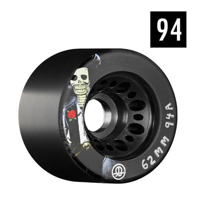 BLACK 94A ROLLER DERBY WHEELS
