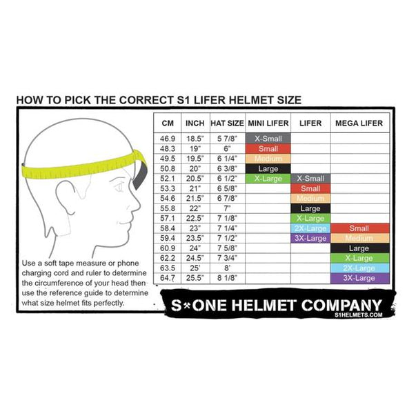S1 Lifer White Gloss Black Checkers Helmet