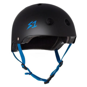 black skate bike helmet sone
