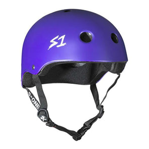 s1 purple bike skate helmet