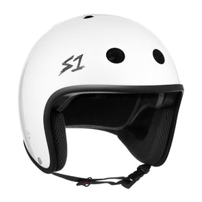 S1 Retro Lifer Helmet White Gloss