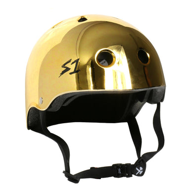 mirror gold s-one helmet
