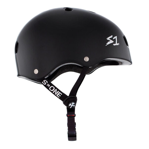 black matt bike helmet