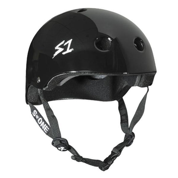 S1 Mini Lifer Helmet Black Gloss