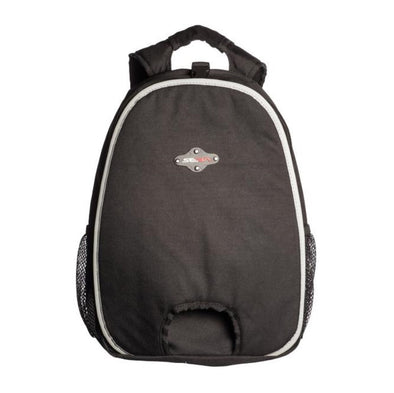 small black inline seba skate backpack