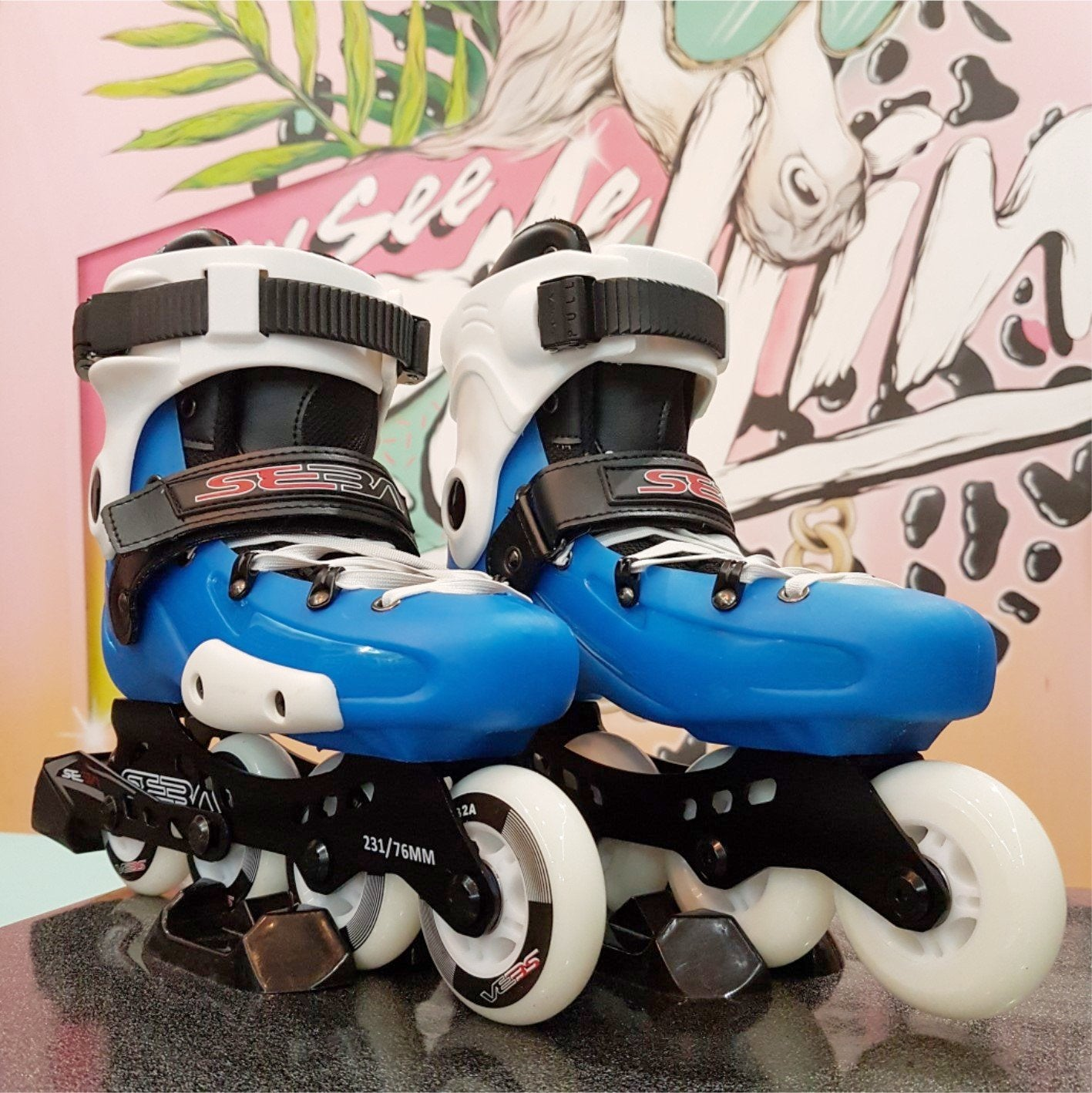 d90bfdcfd9 Seba FRX Junior Blue Adjustable Inlines  Last Pairs  Size 3-5 ...