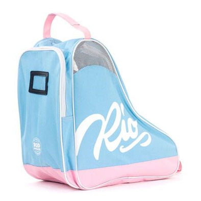 PINK BLUE TRIANGLE SKATE BAG