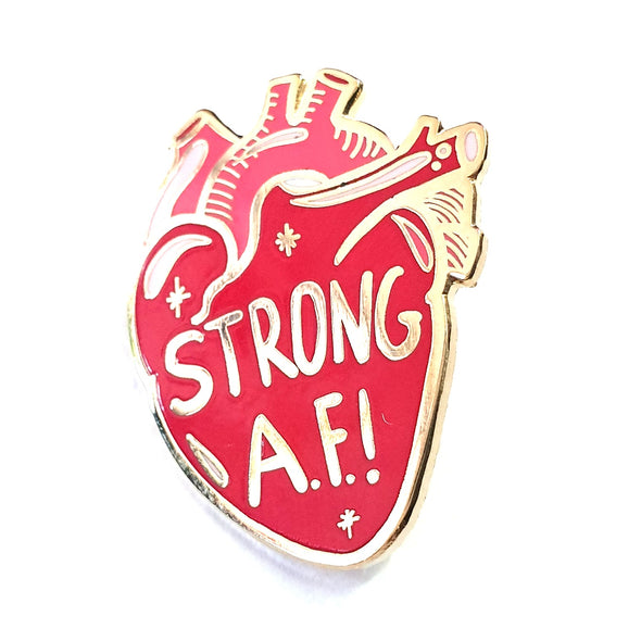 Strong AF Pin
