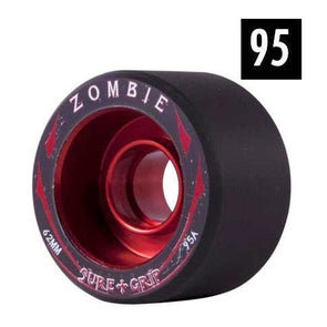 zombie red alloy speed wide wheels