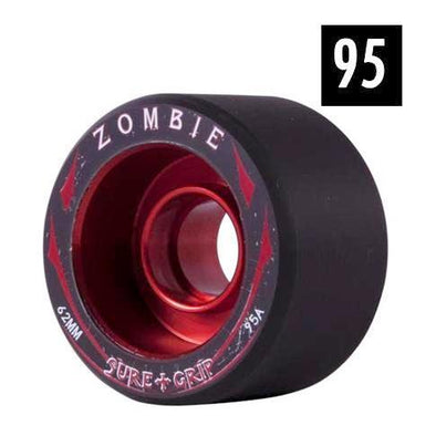 zombie red alloy wheels