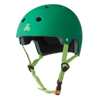 green bike skate helmet