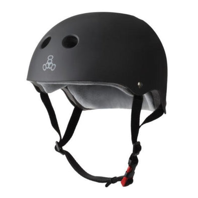 black bike skate helmet