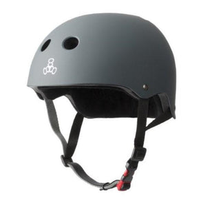 GREY BIKE SKATE HELMET