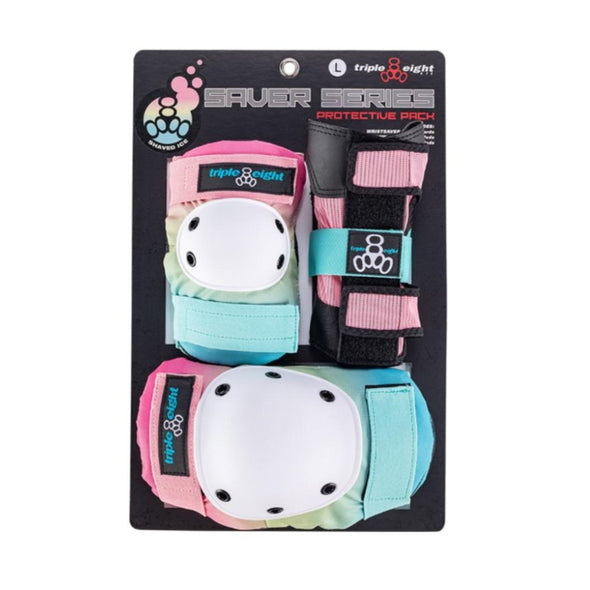 adult coloured knee elbow wrist guards