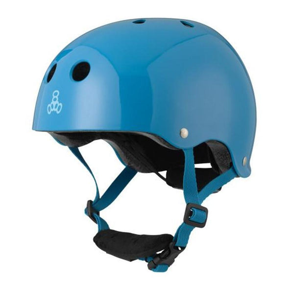 adjustable kids blue helmet