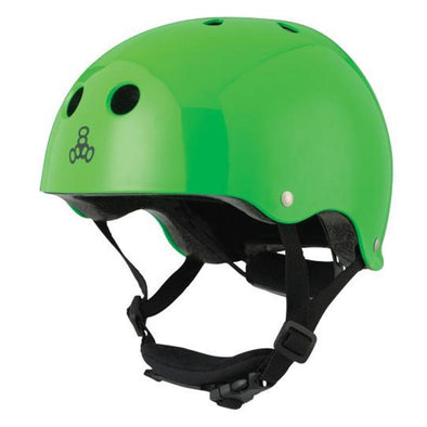 green kids childs helmet