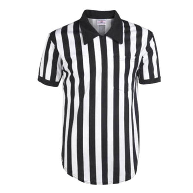 unisex referee top with collar