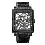 Agelocer Double-sided Square Watches for Men Mechanical Wristwatch 3501J1