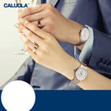 Caluola Quartz Watch Fashion Simple Waterproof Men Watch 1217