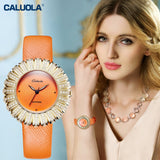 Caluola Quartz Watch Fashion Waterproof Casual Women Watch CA1179