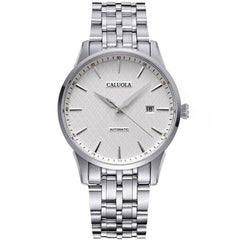 Caluola Automatic Watch Business Date Fashion Men Watch Simple CA1020MLE