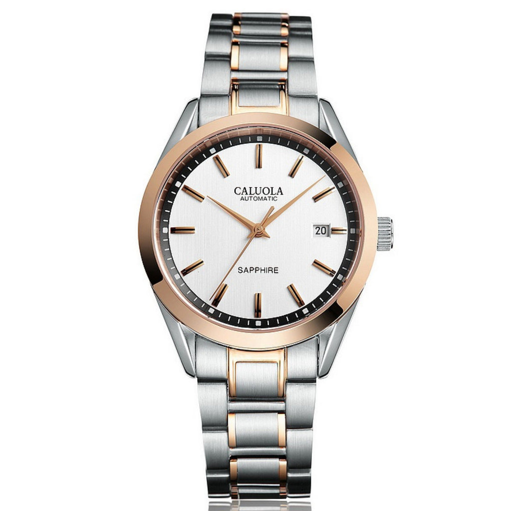 Caluola Automatic Watch Men Watch Fashion Date Business Watch CA1046MM