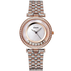 Caluola ultra thin Watch Quartz Dress Women Watch Diamond Elegant Wrist Watch CA1081L