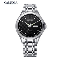 Caluola Business Watch Automatic Men Watch Day-Date Sport Fashion Watch CA1097MM